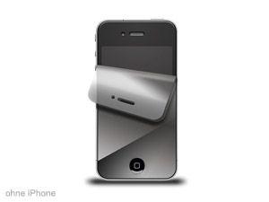 Display-Schutzfolie für iPhone 4/4S, verspiegelt