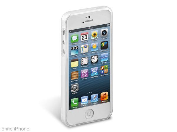 TPU Handy-Cover für iPhone 5, transparent - Produktbild 1