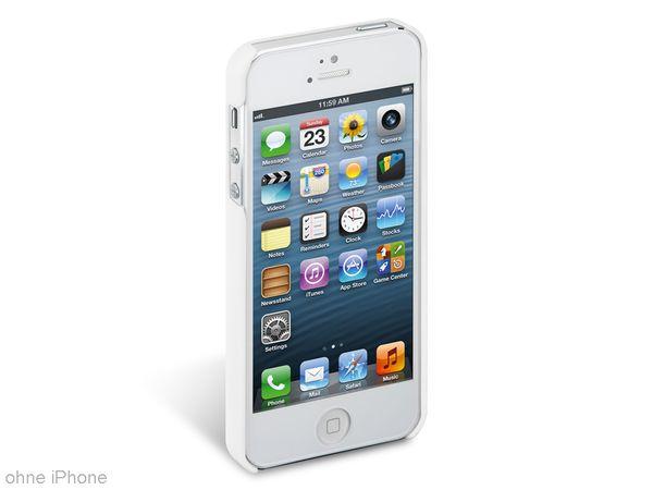 Back Cover für iPhone 5, Hartschale, weiß - Produktbild 1