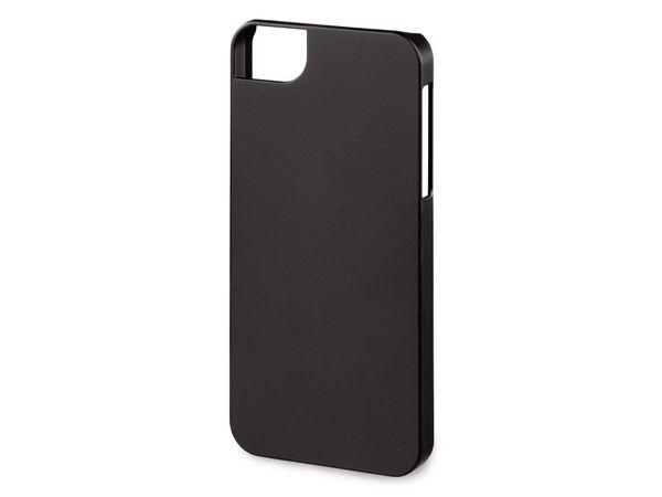 Handy-Cover für iPhone 5 HAMA RUBBER, schwarz