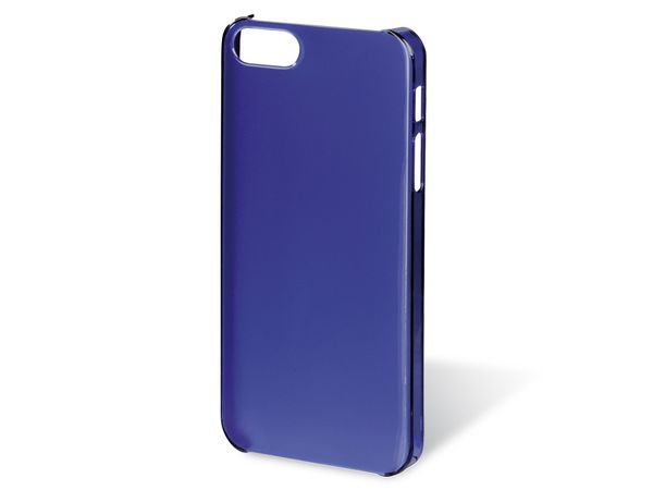 Handy-Cover für iPhone 5 HAMA SLIM, blau