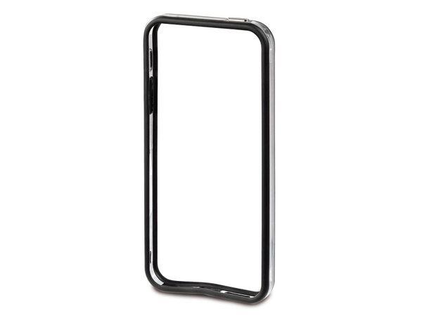Handy-Schutzrahmen für iPhone 5 HAMA EDGE PROTECTOR, schwarz/transparent