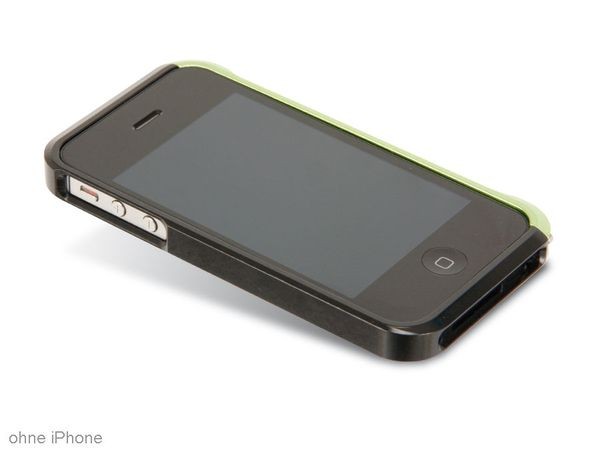 Handy-Cover für iPhone 4/4S HAMA EDGE PROTECTOR ALU 108562 - Produktbild 1