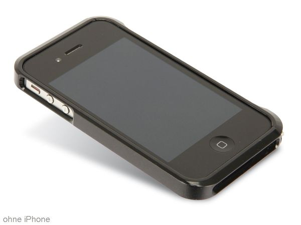 Handy-Cover für iPhone 4/4S HAMA EDGE PROTECTOR ALU 108560 - Produktbild 1