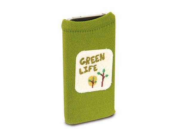 Handy-Socke HAMA Green Life, 100x60 mm - Produktbild 1