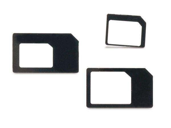 SIM-Karten Adapterset, 3-teilig