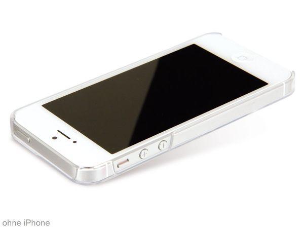 Back Cover für iPhone 5, Hartschale, transparent - Produktbild 1