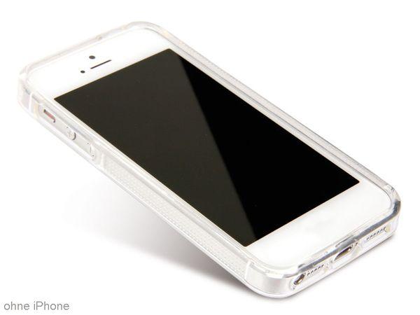 Handy-Schutzrahmen für iPhone 5, TPU, transparent - Produktbild 1