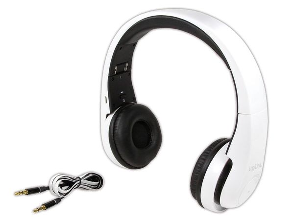 Bluetooth Headset LOGILINK BT0017, weiß