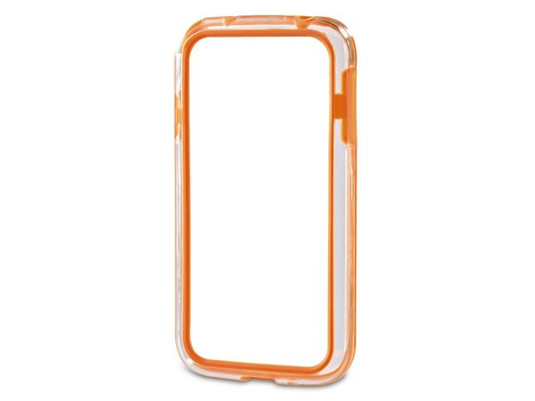 Handy-Cover für SAMSUNG GALAXY S 4 HAMA EDGE PROTECTOR, orange