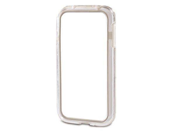 Handy-Cover für SAMSUNG GALAXY S 4 HAMA EDGE PROTECTOR, weiß
