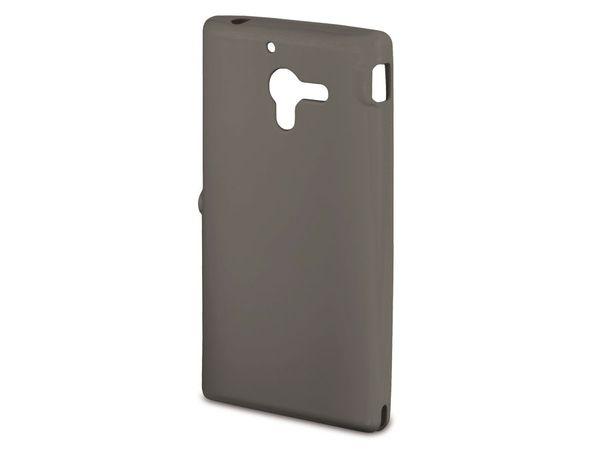Handy-Cover für SONY XPERIA ZL, HAMA CRYSTAL, grau