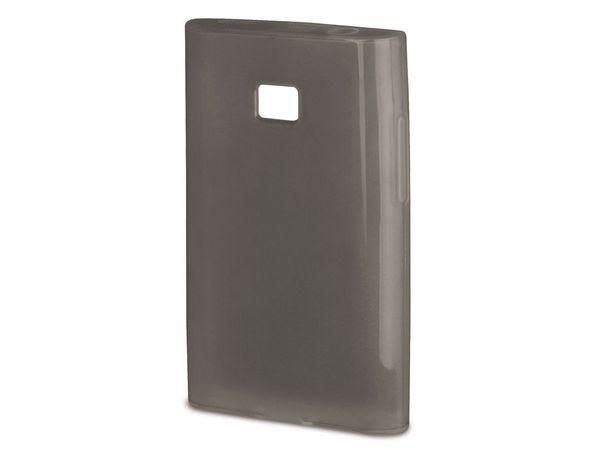 Handy-Cover für LG OPTIMUS L3 II, HAMA CRYSTAL, grau