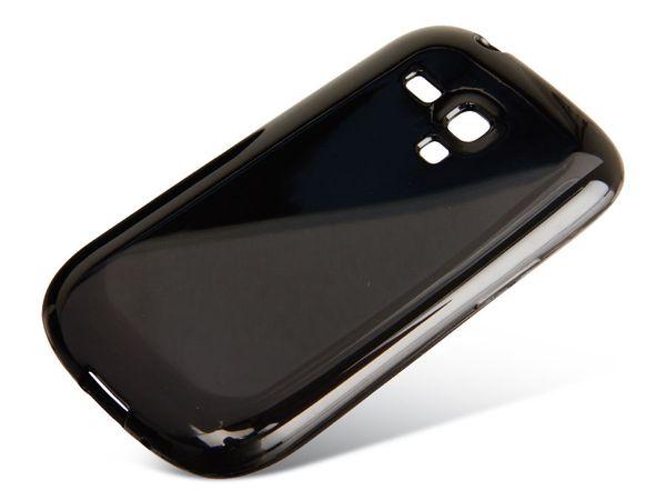 TPU Handy-Cover für SAMASUNG GALAXY S III mini, schwarz - Produktbild 1
