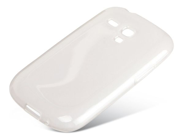TPU Handy-Cover für SAMASUNG GALAXY S III mini, transparent - Produktbild 1