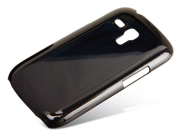 Back Cover für SAMSUNG GALAXY S III mini, Hartschale, schwarz - Produktbild 1