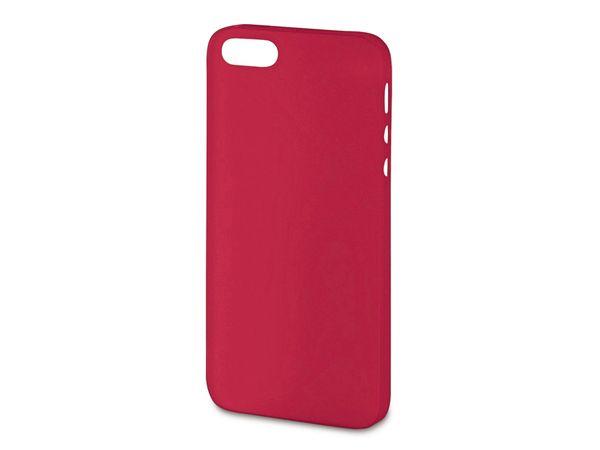 Handy-Cover für iPhone 5C HAMA ULTRA SLIM, rot