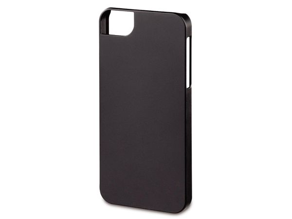 Handy-Cover für iPhone 5C HAMA RUBBER, schwarz