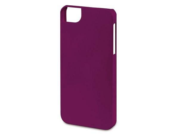 Handy-Cover für iPhone 5C HAMA RUBBER, brombeer