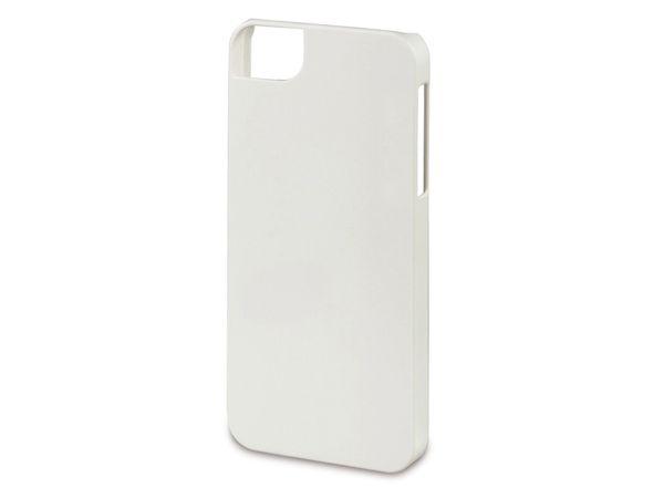 Handy-Cover für iPhone 5C HAMA RUBBER, weiß