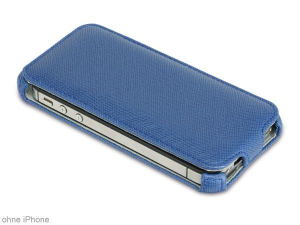 """HAMA Flap-Tasche """"Flap Case"""" für APPLE IPhone 5/5s, blau - Produktbild 1"""