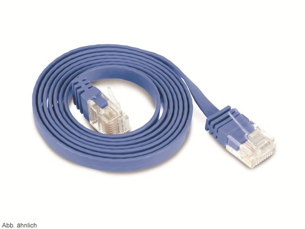 CAT.6 Patchkabel, slim