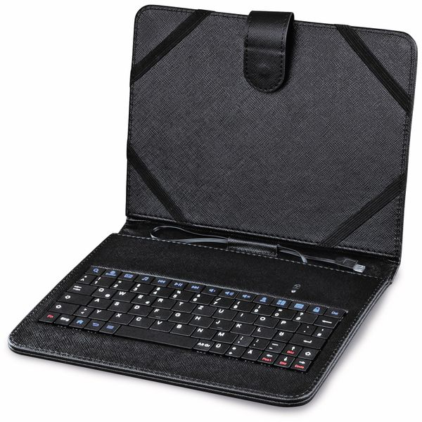 """Tablet-Tasche mit integrierter Tastatur HAMA 50468, 8"""", OTG, schwarz - Produktbild 2"""