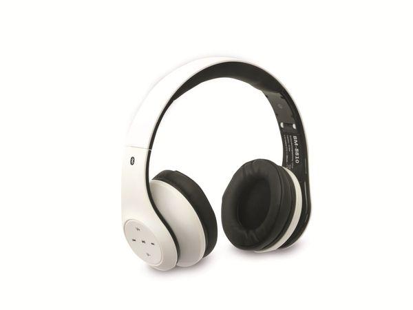 Bluetooth-Kopfhörer BM-8810, weiß, B-Ware - Produktbild 1