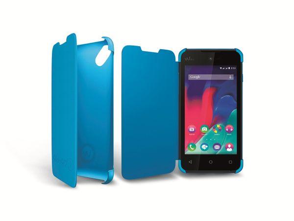 Flap-Tasche für WIKO Sunset 2, blau
