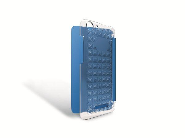 Flap-Tasche für WIKO Lenny 2, blau