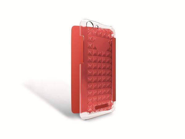 Flap-Tasche für WIKO Lenny 2, koralle