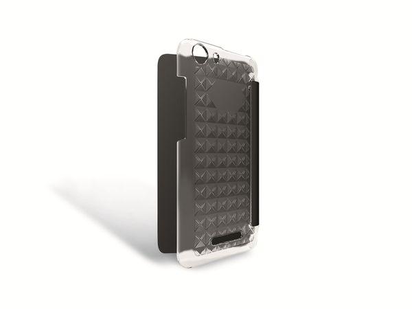 Flap-Tasche für WIKO Lenny 2, schwarz