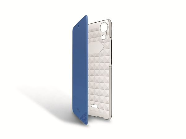 Flip-Tasche für WIKO Rainbow Jam, blau - Produktbild 1