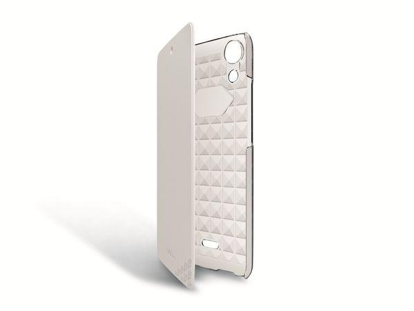 Flip-Tasche für WIKO Rainbow Jam, weiß - Produktbild 1