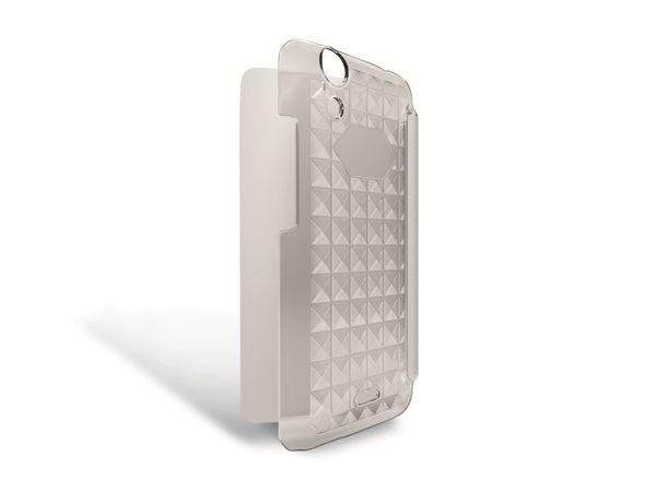 Flip-Tasche für WIKO Rainbow Jam, weiß - Produktbild 2