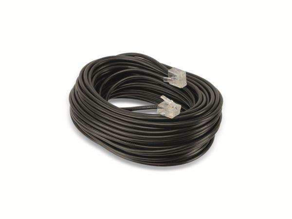 ISDN-Verbindungskabel HAMA 44566, 15 m - Produktbild 1