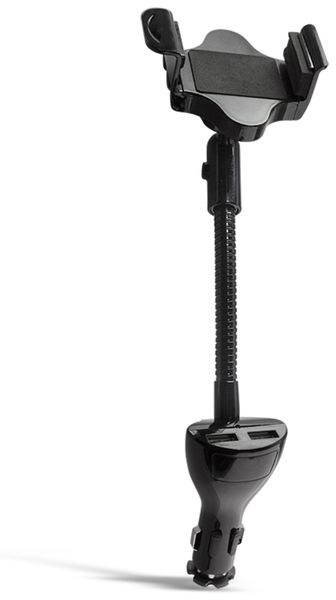 Smartphone KFZ-Halterung LOGILINK PA0121, 2x USB - Produktbild 2