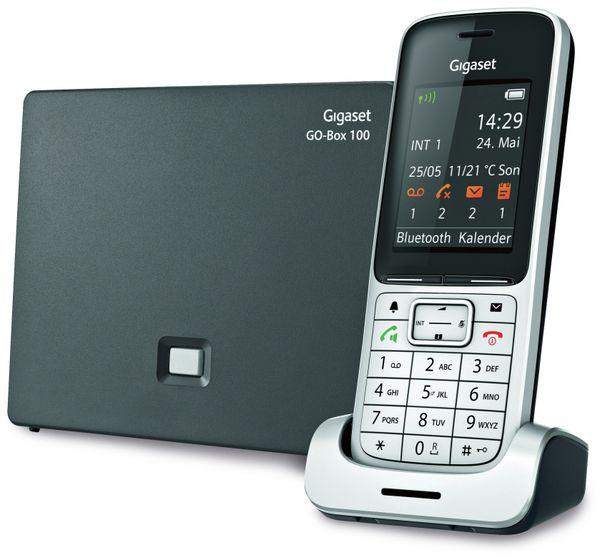 Schnurloses DECT-Telefon GIGASET SL450A GO, mit Anrufbeantworter - Produktbild 1