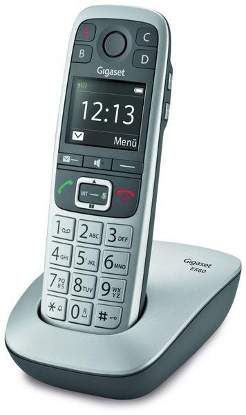 Schnurloses DECT-Großtasten-Telefon GIGASET E560
