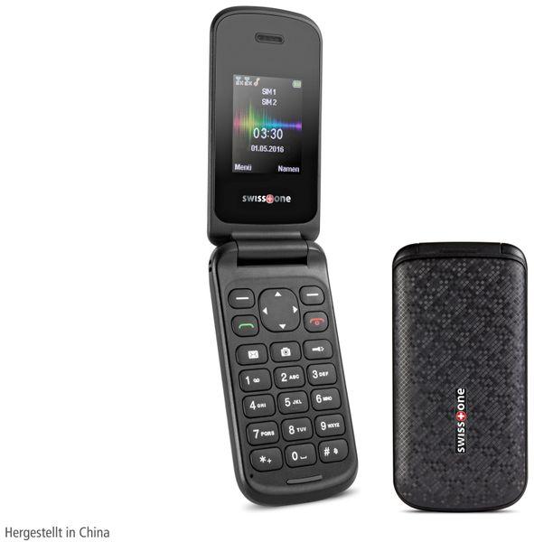 Handy SWISSTONE SC 330, schwarz - Produktbild 1