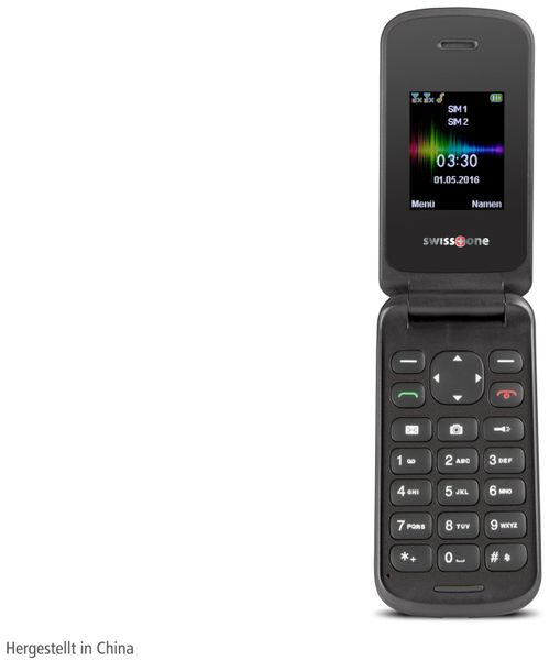 Handy SWISSTONE SC 330, schwarz - Produktbild 2