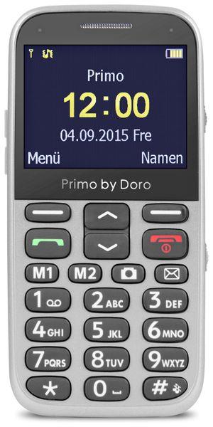 Handy DORO Primo 366, silber