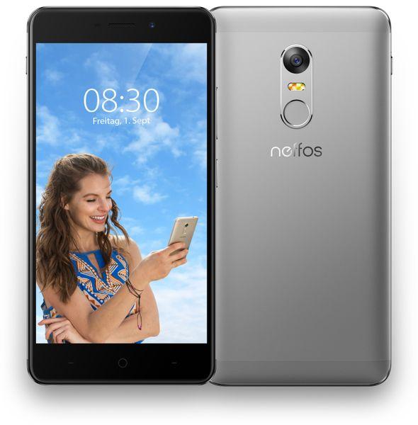 "Smartphone TP-LINK Neffos X1 Max, 5,5"", 64 GB, grau - Produktbild 1"