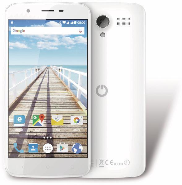 "Handy ODYS Slade X55, Dual-SIM, 5,5"", 16GB Android 6.0, Quad-Core, weiß - Produktbild 1"