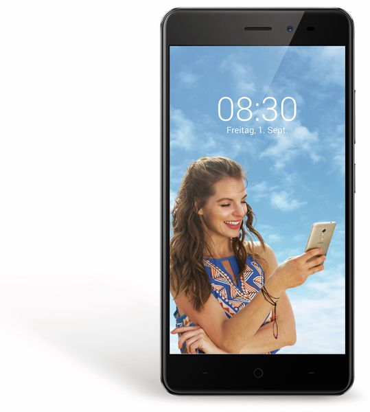 "Smartphone TP-LINK Neffos X1 Lite, 5,0"", 16 GB, grau - Produktbild 2"