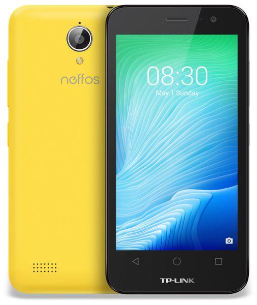"Smartphone TP-LINK Neffos Y50, 4,5"", 8 GB, gelb - Produktbild 1"