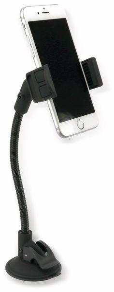 USB-Lader mit KFZ-Halterung für Smartphones, 2-Punkt, 5 V-/3,1 A - Produktbild 1