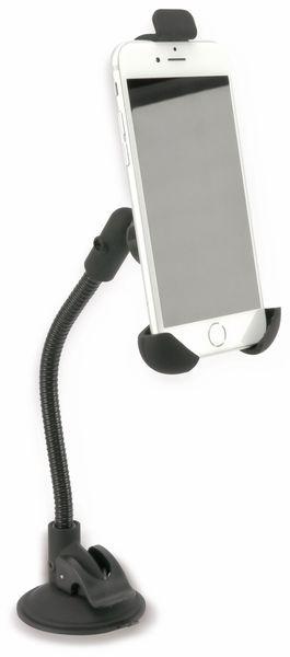 KFZ-Halterung für Smartphones, 3-Punkt, 5 V-/3,1 A - Produktbild 1