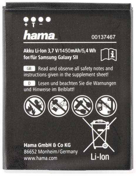 Handy-Akku, HAMA, für SAMSUNG, GALAXY SII, Bastelware - Produktbild 3