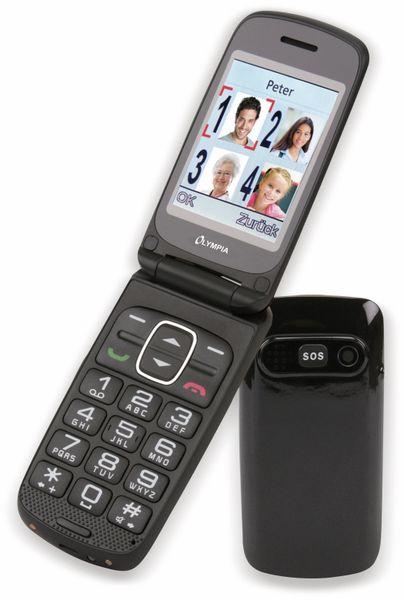 Handy OLYMPIA Primus, schwarz, Dual-Sim - Produktbild 1